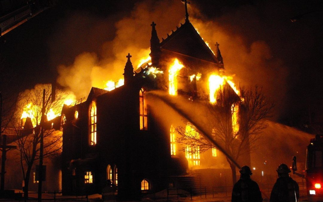 Another Church Burning in America